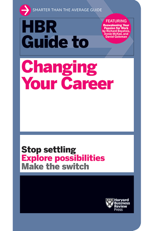 Cover of the HBR Guide to Changing Your Career